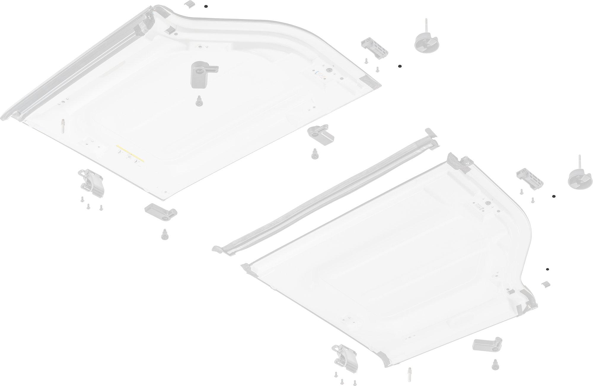 Mopar Ab Hardtop Freedom Panel Bumper For 07 18