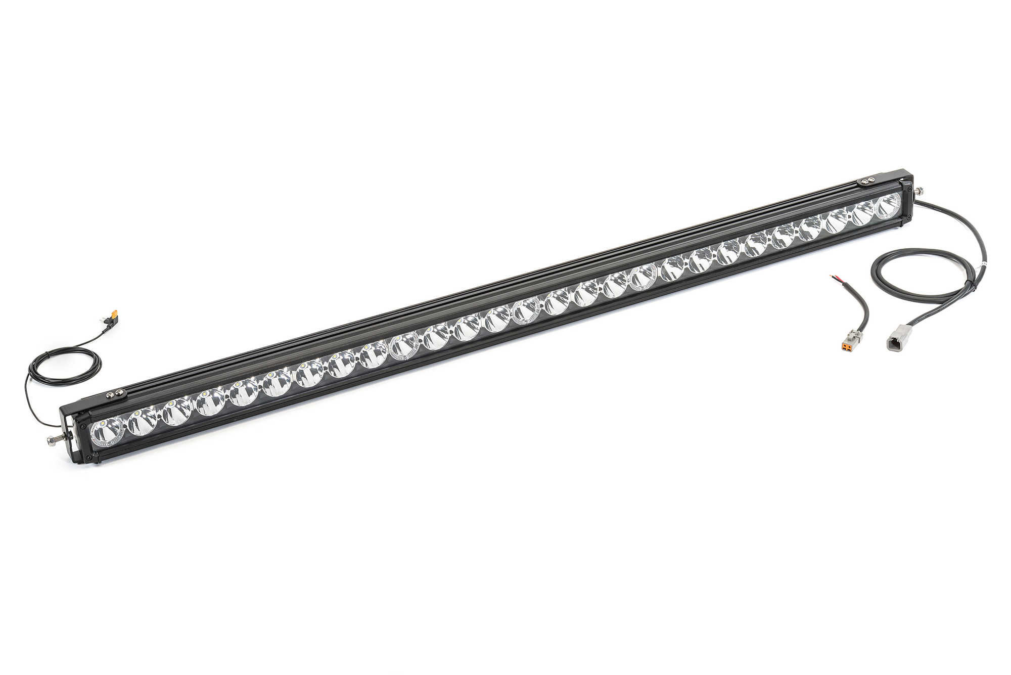 Quadratec J5 Led Light Bar With Amber Clearance Cab