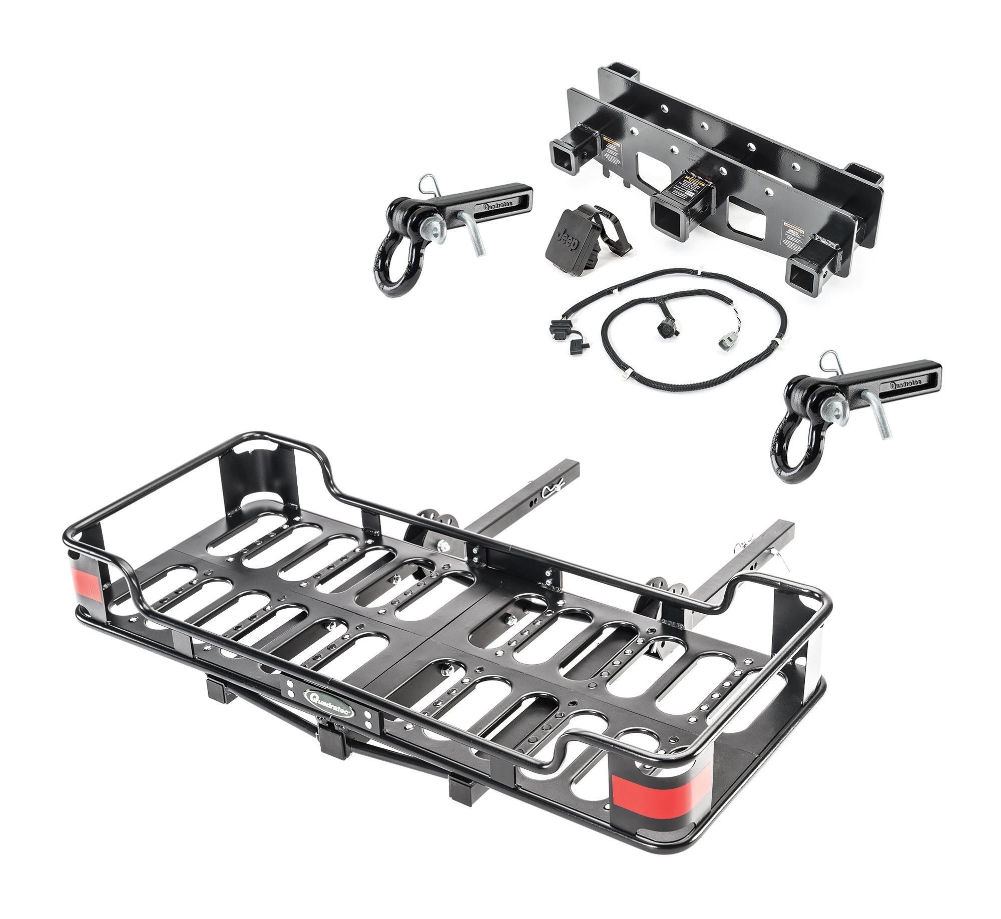 Versahitch Receiver Wiring Kit Jeep Logo Plug Cargo