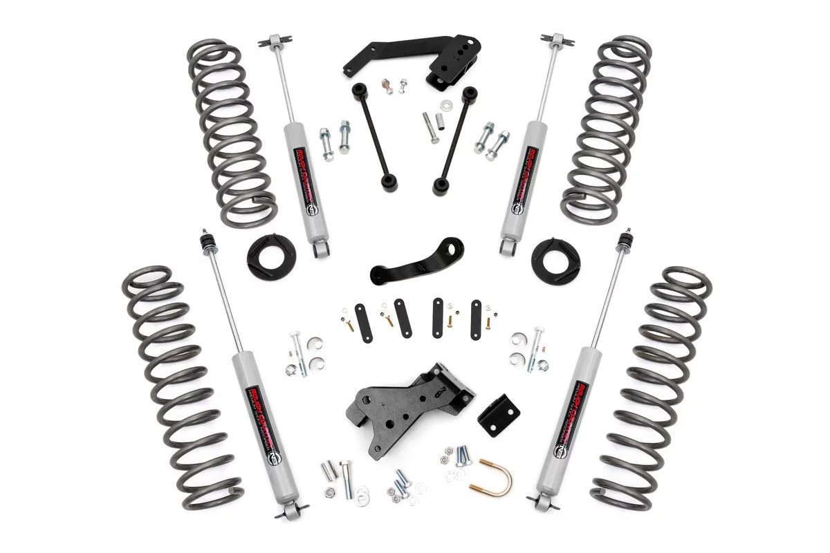 Rough Country 4in Suspension Lift Kit For 07 18 Jeep
