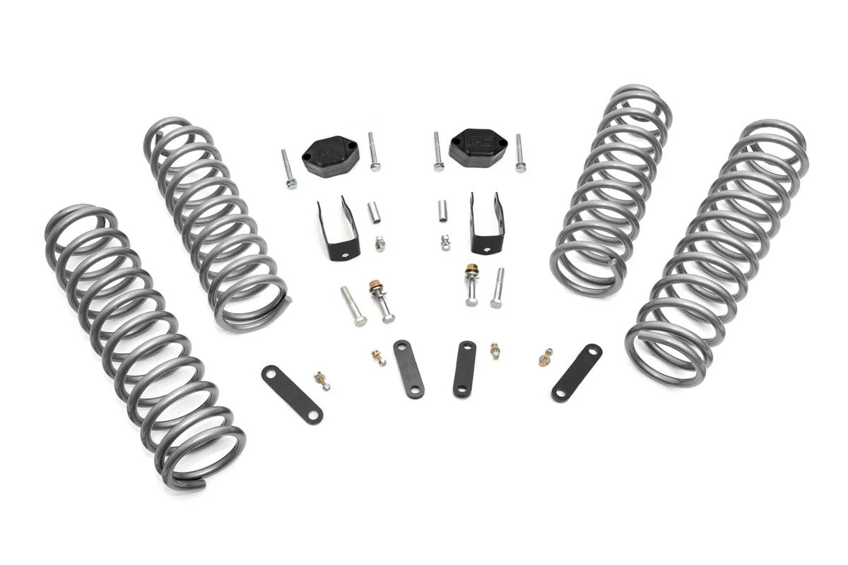 Rough Country 2 5in Suspension Lift Kit For 07 18 Jeep
