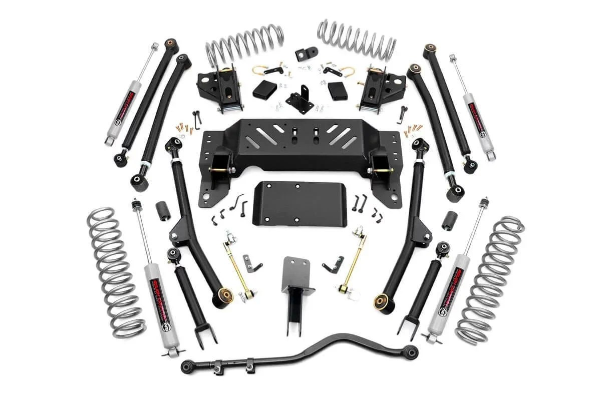 Rough Country 4in Long Arm Suspension Lift Kit For