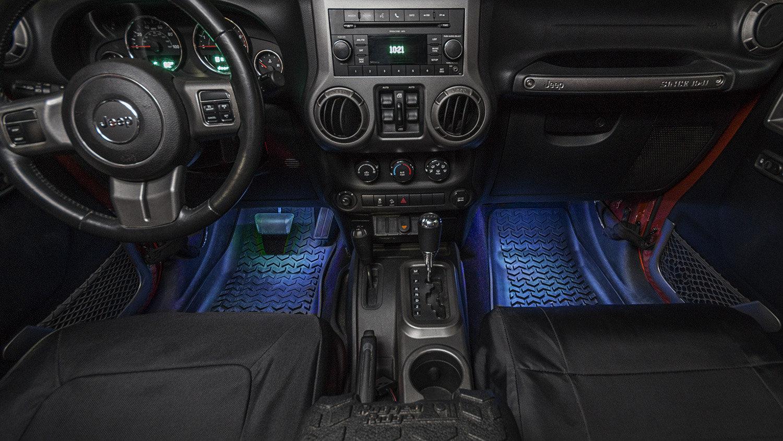 Jeep Wrangler Interior Led Lights