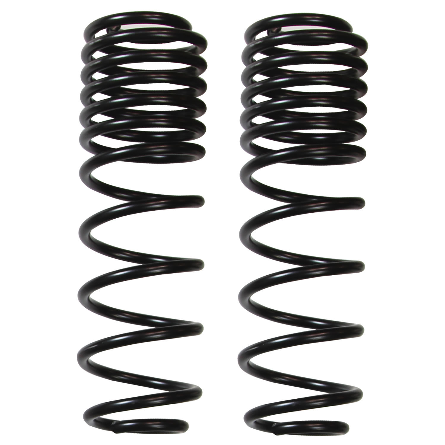 Skyjacker 5 In Dual Rate Rear Coil Spring Pair For 18 19