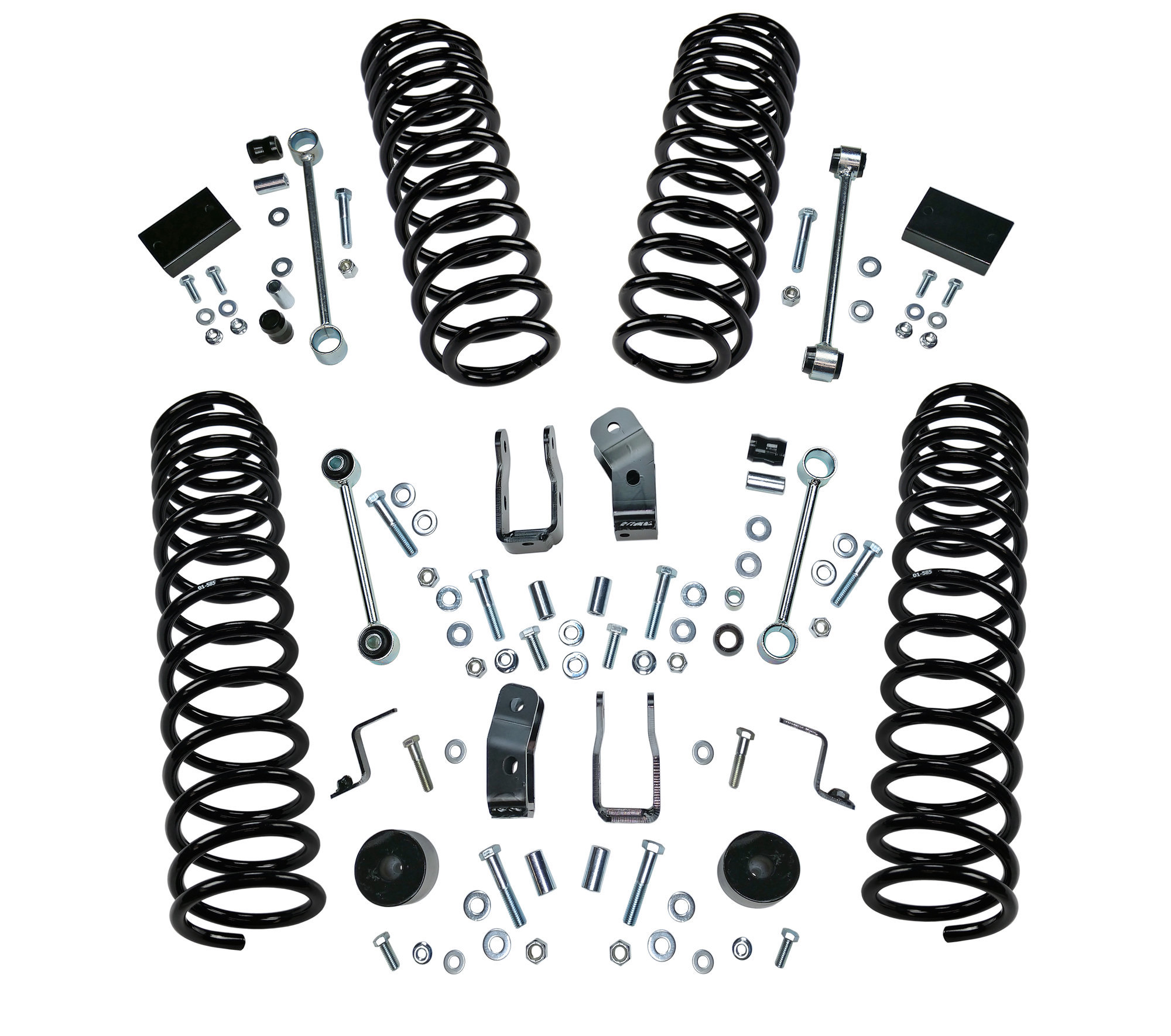 Superlift 2 5 Dual Rate Coil Spring Lift Kit For 18 20