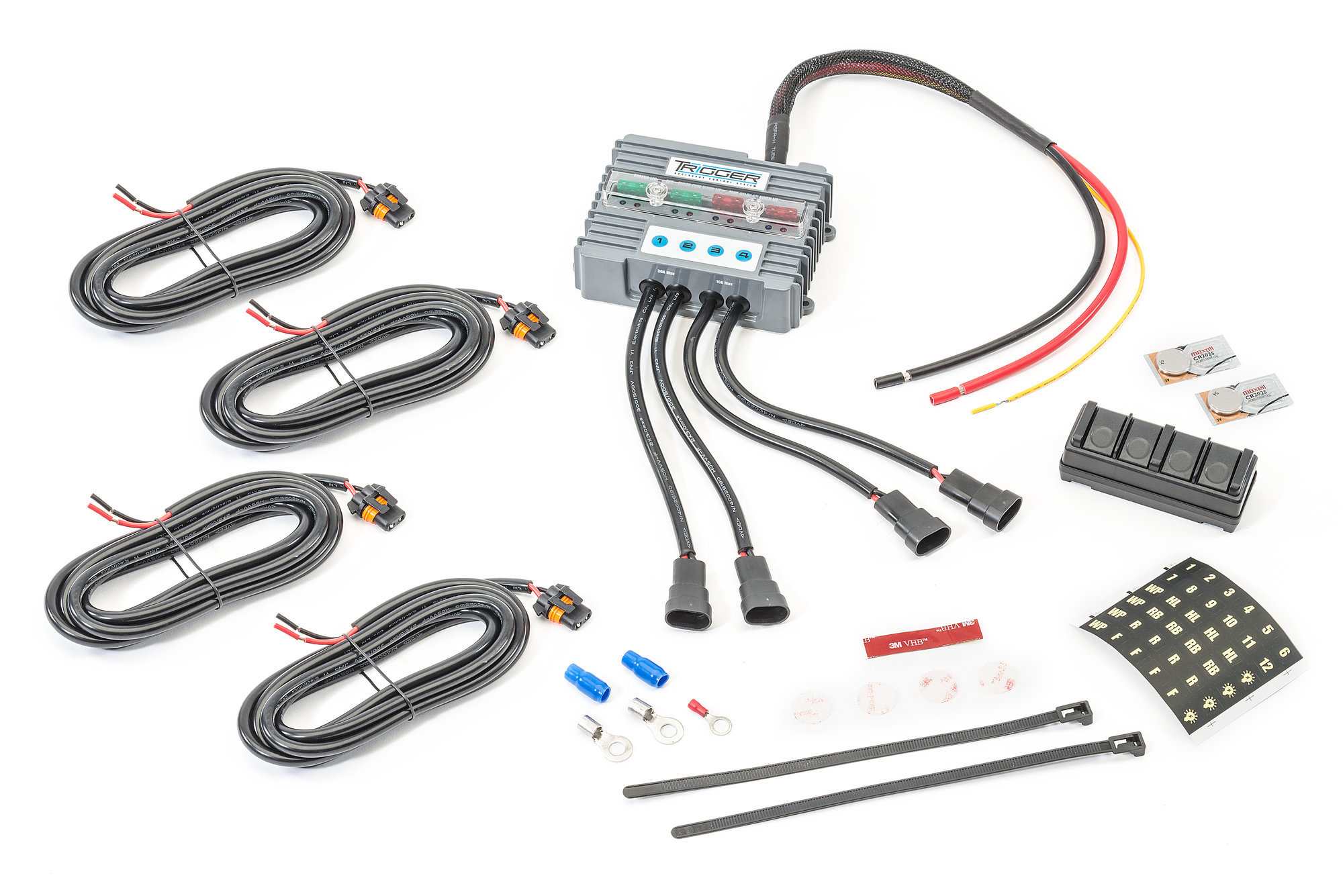 Trigger Complete Switching System With Overhead Switch