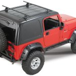 Yakima Overhead Rack Systems For 87 06 Jeep Wrangler Yj Tj Unlimited Quadratec