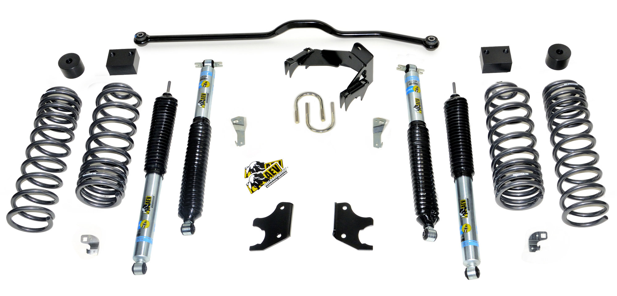 Aev 2 5 Dualsport Xt Suspension System For 07 17 Jeep