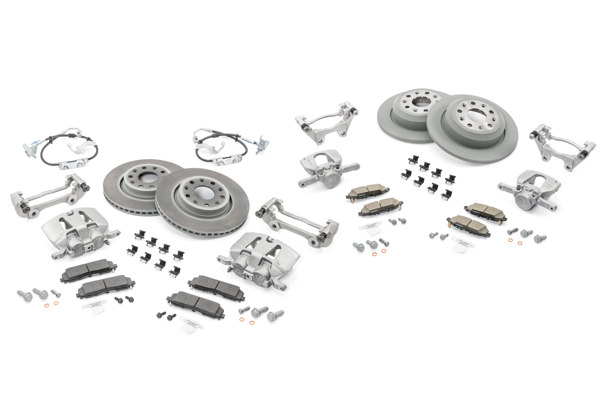 Mopar Front Amp Rear Big Brake Kit For 18 19 Jeep