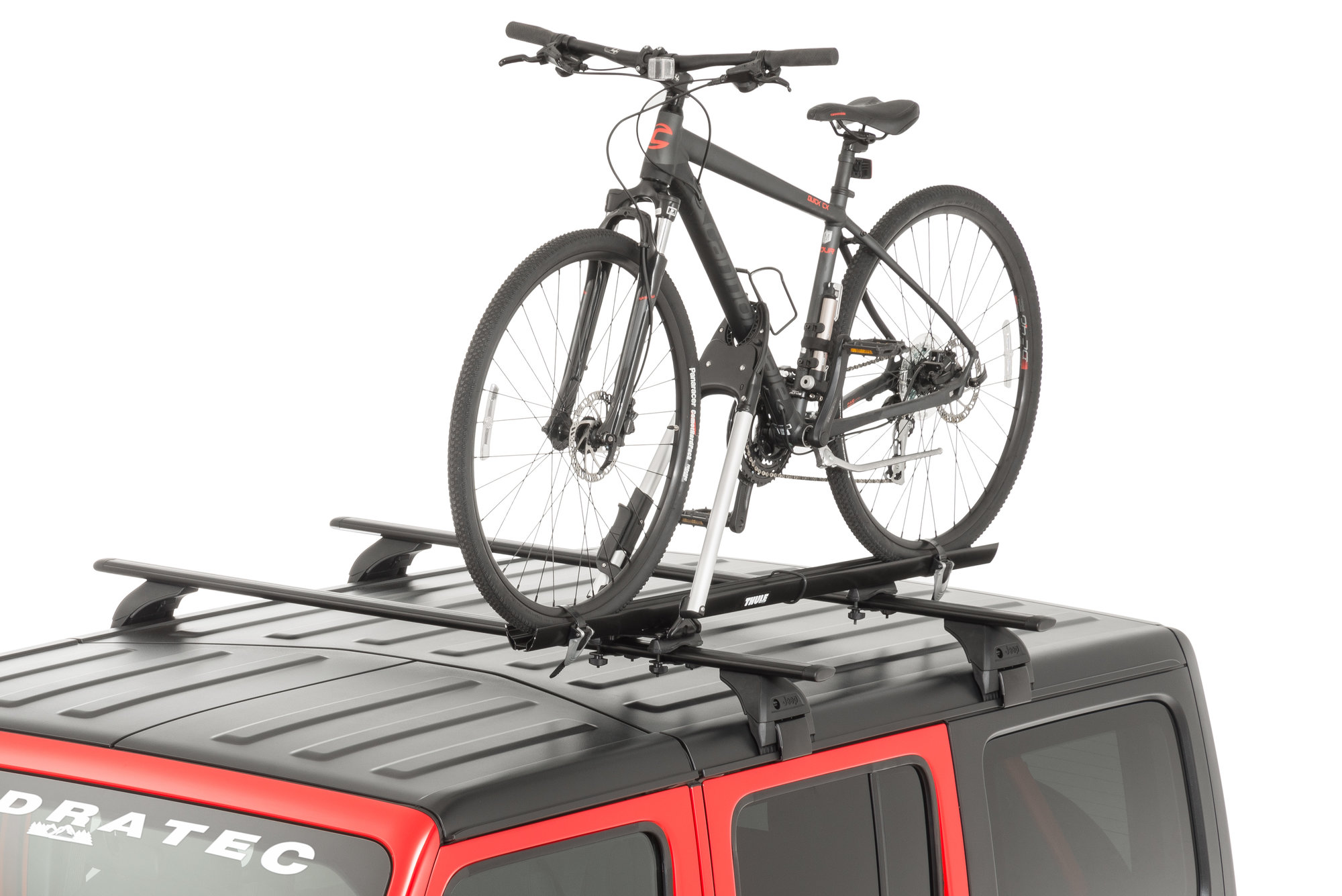 mopar tcoes599 rooftop bike carrier upright mount style