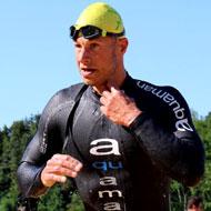 Fastest swim and kayak time: Dennis Möller