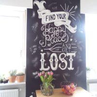DIY Wie mache ich meine eigene CHALK-BOARD WAND? #Tutorial #Lifestyle #ChalkBoard #KreideWand