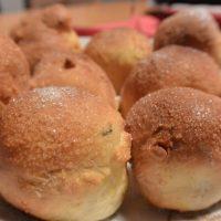 Quarkbällchen aus der Heissluftfritteuse Klara, fettarm und super lecker!