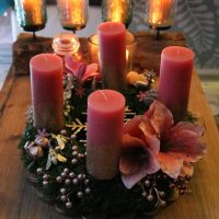 DIY Adventskranz selbst binden und dekorieren! In wenigen Schritten zum ganz individuellen Adventskranz + Gewinnspiel