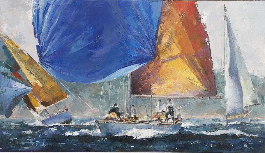 Risultati immagini per quadri di vele al vento