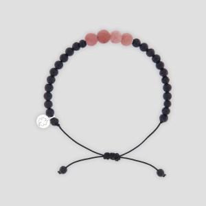 bracciale-quadricuore-black-rose