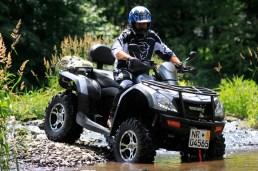 Gut für Zwei: Als Vertreter der beliebten MAX-ATV tritt die Goes 525 zum Vergleich an.