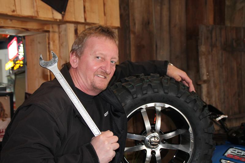 """Peter Kremsreiter sen: """"Ein ATV sollte seinem Namen alle Ehre machen und mit jedem Gelände fertig werden!"""""""