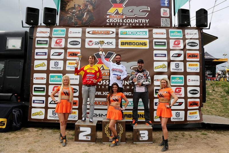 Die MAXXIS Cross Country Meisterschaft ist die teilnehmerstaerkste Offroadrennserie (Rundstreckenrennen) in Deutschland für Motorraeder und Quads
