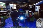 Im Biwak: Fahrzeug wieder flott machen!