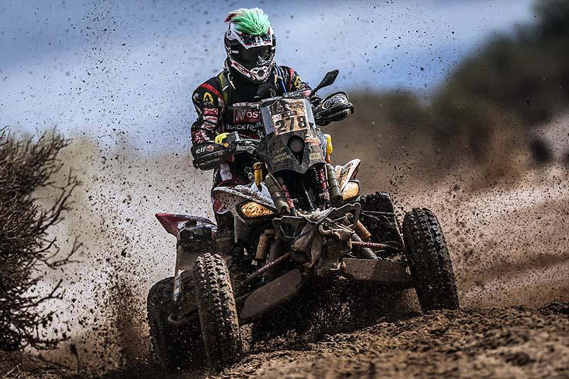 Juan-Carlos Carignani: Zum 4ten Mal bei der Dakar.