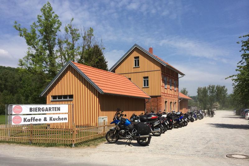 Neuer Treff für Biker und Quadfahrer im Jagsttal.