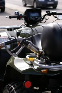 Alles sauber: Beim Gas tanken gibt es keine überlaufenden Zapfpistolen.