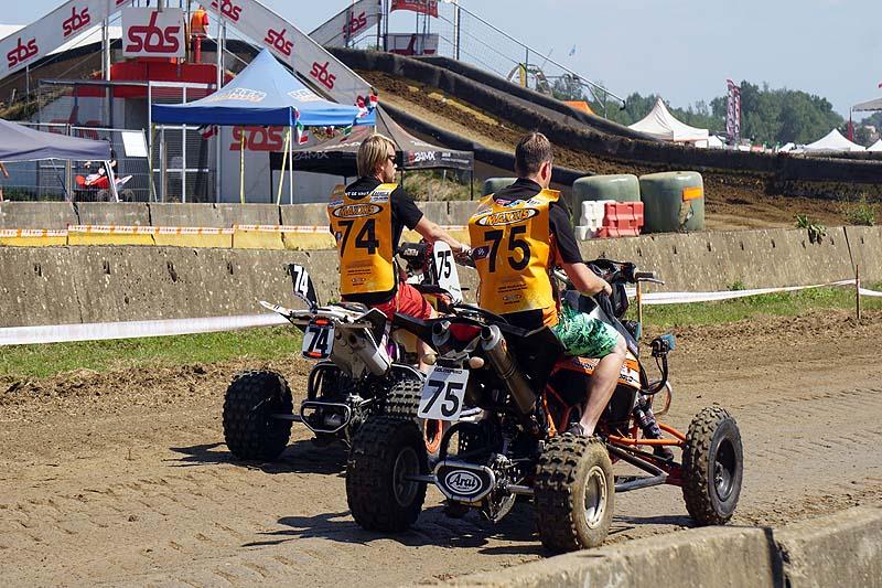 Streckenbesichtigung: Mit zwei Teams angereist war E.-ATV.