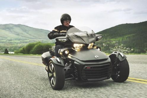 Uns bestens bekannt, da Can-Am auch klasse ATVs baut: Der Spyder aus Kanada.