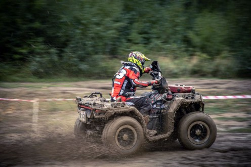 Wettkampf mit dem ATV.