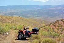 Dünn besiedelt: Die kargen Böden Südspaniens sind trotzdem landwirtschaftlich genutzt.