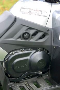 Atrappe: Den Benzinhahn braucht ihr nicht mehr. Die aktuelle MXU fährt mit elektronischer Gemisch- aufbereitung.