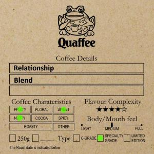 Relationship Coffee Blend