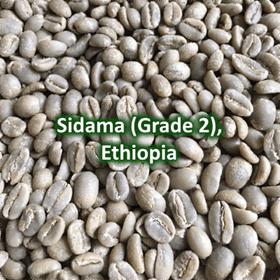 Green Coffee - Sidama Grade 2, Ethiopia