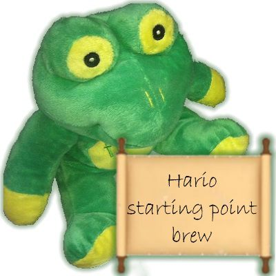 Hario starting point brew
