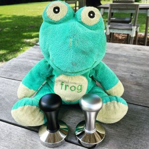 BrewTool 58mm Tampers With FrogQX600