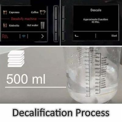 General Jura Decalcification/Descaling process
