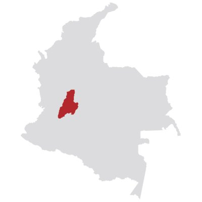 Colombia Southern Tolima On Map
