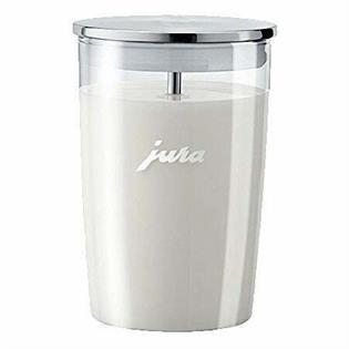 JuraGlass Milk Container With Milk