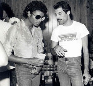 Michael Jackson, Freddie Mercury : duel au soleil