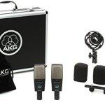 AKG C414X LS/ST–C-414XLS/ST Micro Studio Kit 2micros + Valise Aluminium