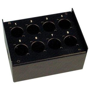 AudioTeknik Box 8 schwarz · Boîte de direct, non équipée