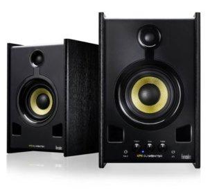 Hercules XPS 2.0 80 DJ Monitor – Enceintes de monitoring Active pour PC/Mac – 40 W RMS