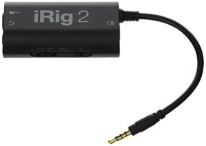 IK Multimedia iRig2 Interface de modelisation Noir