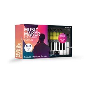 Music Maker – 2019 Performer Edition – Music Maker Premium Edition avec Contrôleur de pads USB