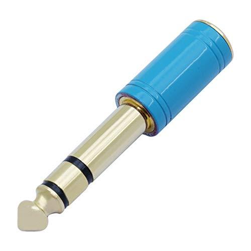 Romdink Adaptateur stéréo Femelle 6,35 mm mâle à 3,5 mm