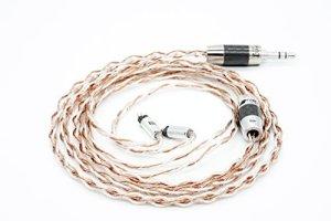 Effet Audio Eros II câble de mise à niveau (2pin–Ciem connecteur) (2.5mm Straight Plug)