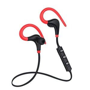 Voberry Écouteurs intra-auriculaires, Bluetooth 4.1Casque sans fil stéréo sport écouteurs intra-auriculaires Casque