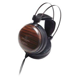 Audio-Technica ATH-W5000 Casque HiFi supra-aural dynamique fermé, Bois D'ébène