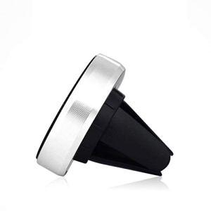 Lorenlli Support de téléphone Portable de Voiture de Conception magnétique Universel Portable Support de Prise d'air de Voiture Support de téléphone Portable de Rotation de 360 degrés